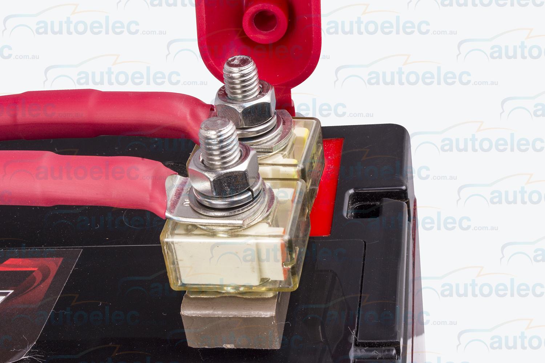 hight resolution of battery 2 x 50 amp double fuse holder block kit 12v volt dual battery system