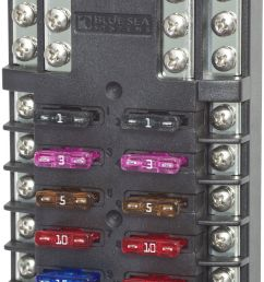 blue sea 5026 fuse block box holder marine boat battery 12 volt  [ 843 x 1600 Pixel ]