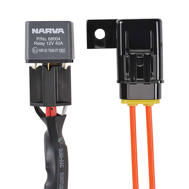 narva wiring diagram driving lights honeywell smart thermostat 12v car harness loom kit for ultima 9 quot led