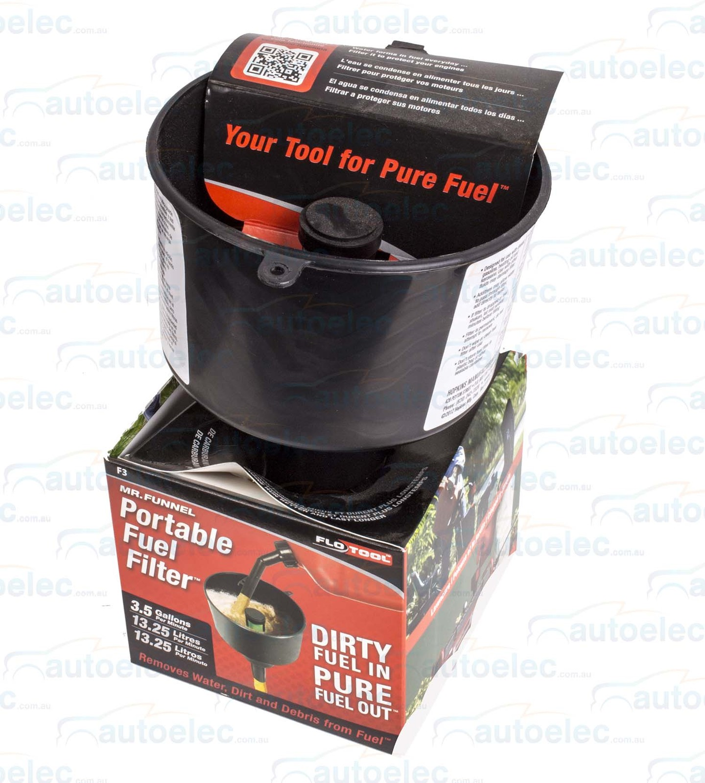 hight resolution of mr funnel portable fuel filter removes water petrol mower
