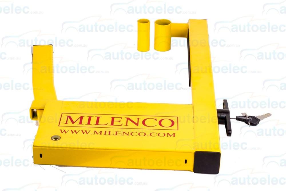 medium resolution of milenco wheel clamp