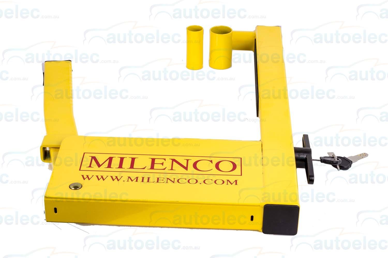 hight resolution of milenco wheel clamp