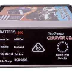 12v 240v Caravan Wiring Diagram Automotive Symbols Battery Link Smart Dc To Dual Charger 20a Amp Volt Agm View