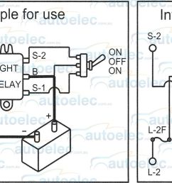 twin headlight relay new era 12 volt  [ 1600 x 807 Pixel ]