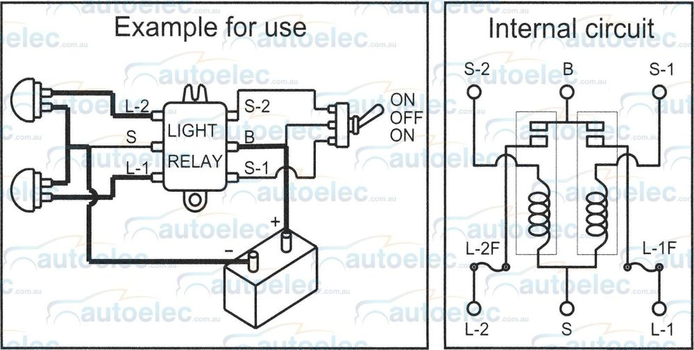 medium resolution of twin headlight relay