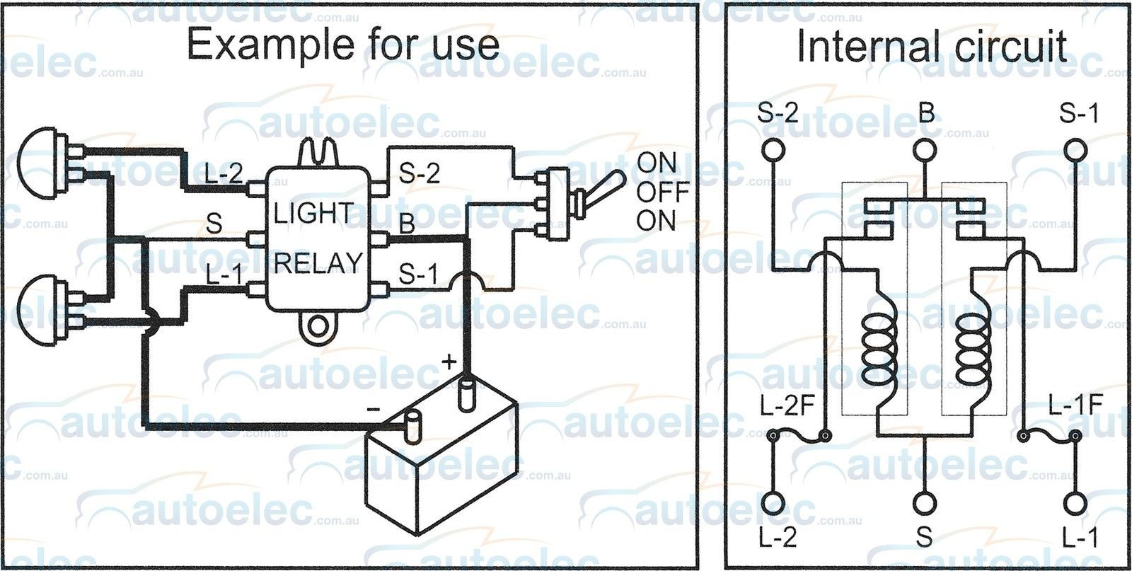 hight resolution of twin headlight relay