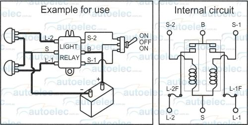 small resolution of twin headlight relay