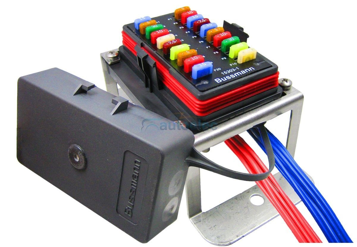 hight resolution of prolec 20 way fuse block