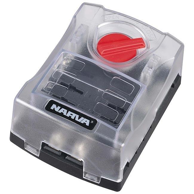 medium resolution of narva 6 way fuse block box holder ats blade