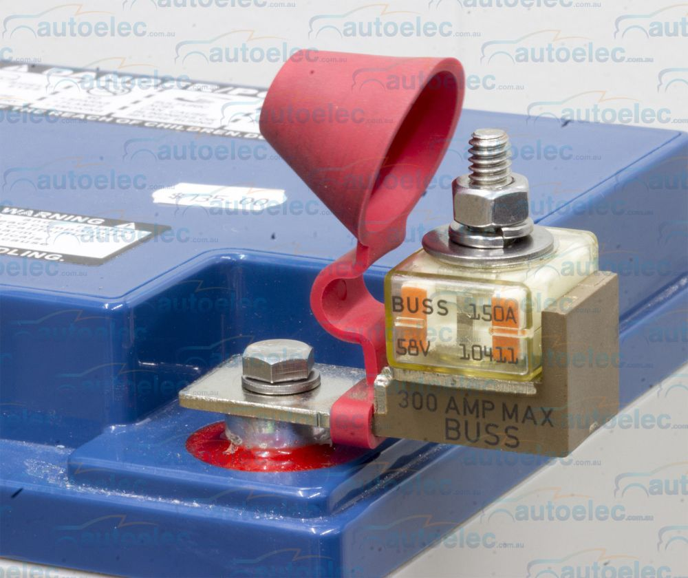 medium resolution of battery 150a 150 amp fuse holder block kit 12 12v volt dual system box mrbf150