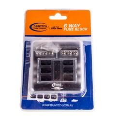 baintech 6 way 30 amp fuse block  [ 1591 x 1600 Pixel ]