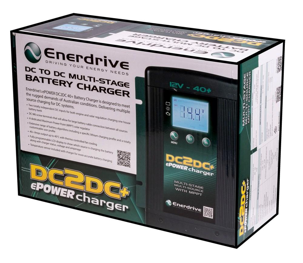 medium resolution of enerdrive dc2dc dual dc dc solar battery charger 12v agm caravan