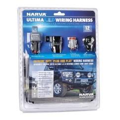 Narva Wiring Diagram Driving Lights 2007 F250 Fuse Box 12v Car Harness Loom Kit For Ultima 9 Quot Led