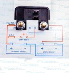 victron dual battery smart voltage sensitive relay isolator 120 amp 12v cyrix ct [ 1500 x 1500 Pixel ]