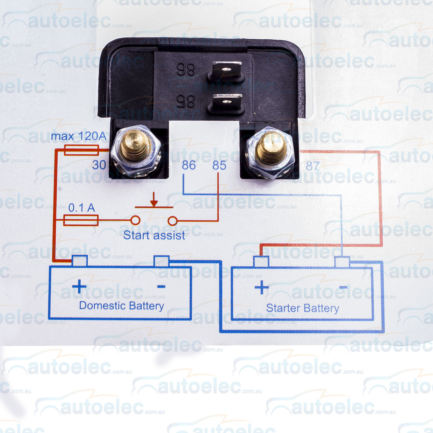 hight resolution of victron dual battery smart voltage sensitive relay isolator 120 amp 12v cyrix ct