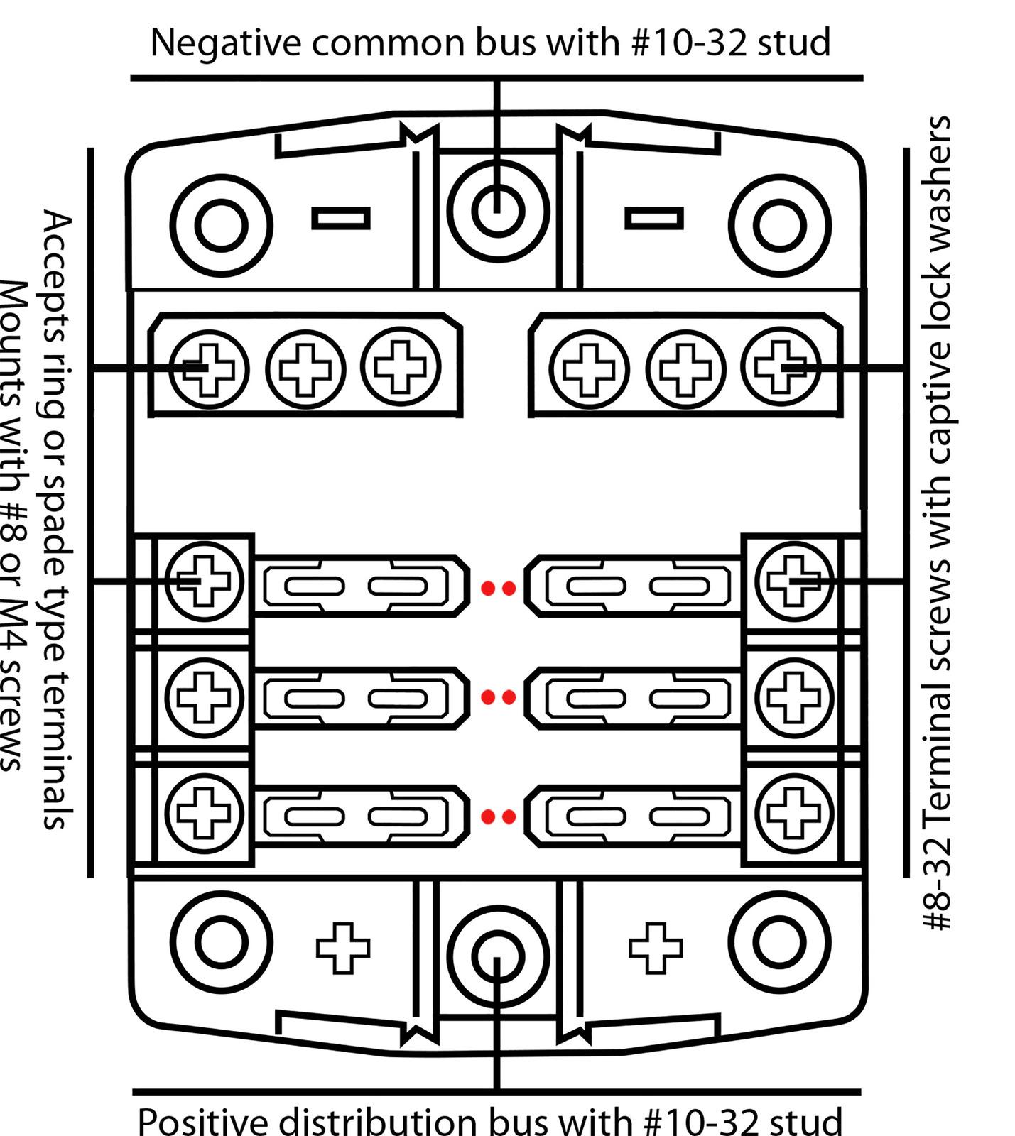 hight resolution of baintech 6 way 30 amp blade fuse block