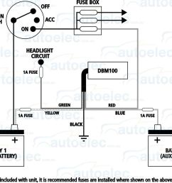 projecta dual battery system monitor volt meter dbm100 12v 24 volt wiring diagram dual battery hook up diagram cole hersee master [ 1462 x 948 Pixel ]