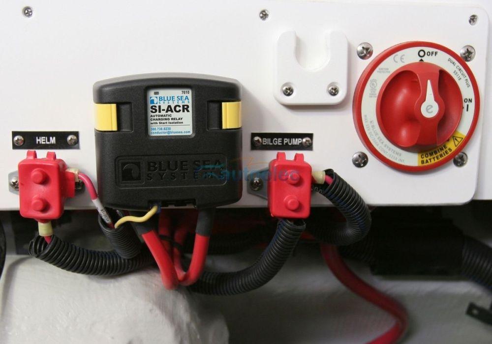 medium resolution of blue sea 7650 voltage sensitive relay 12v vsr marine 120a dual blue seas vsr wiring diagram