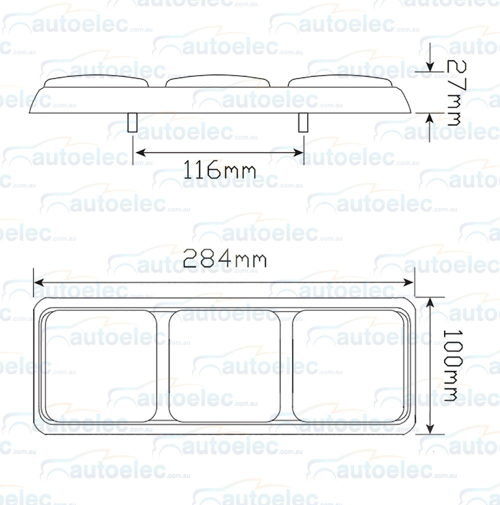 medium resolution of new led combination rear tail stop indicator reverse lights lamps wiring hilux view