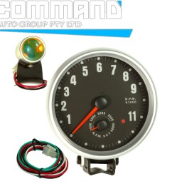 4 in 1 tachometer shift light voltage temperature oil pressure gauge engine [ 1600 x 1600 Pixel ]