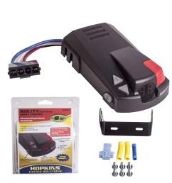 hopkins digital display agility 47294 caravan trailer electric brake controller [ 1600 x 1600 Pixel ]