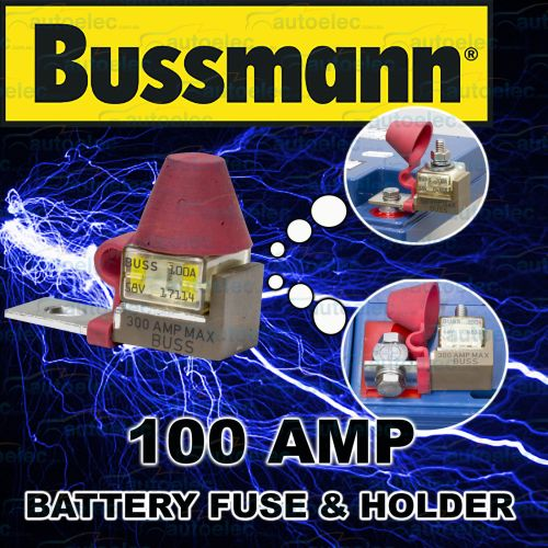 small resolution of battery 100a 100 amp fuse holder block kit 1