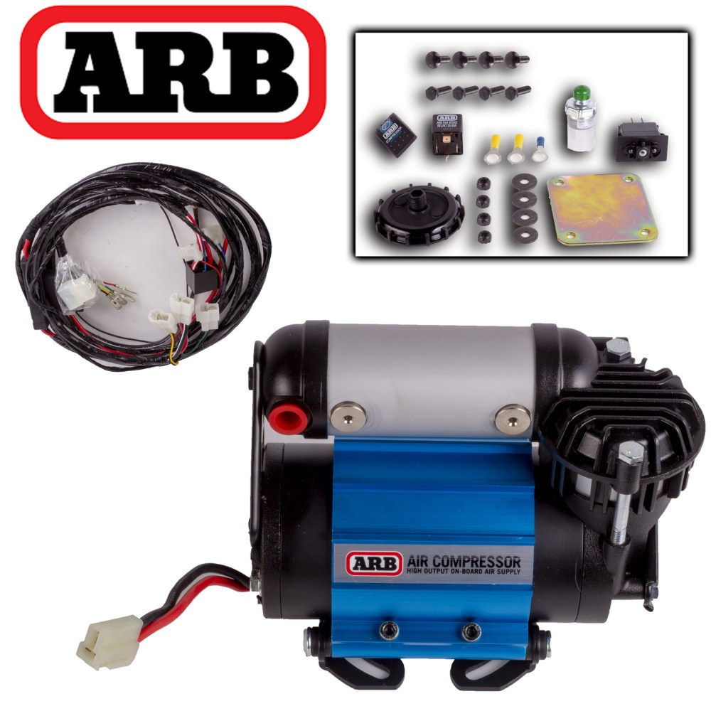medium resolution of details about arb on board 87l 12v volt air compressor tyre tire 4wd 4x4 inflator ckma12 kit
