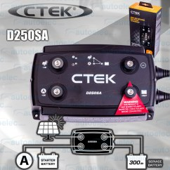 Redarc Bcdc Charger Wiring Diagram Tacoma Automatic Shift Parts Ctek Latest D250sa Dc To Solar Smart Battery