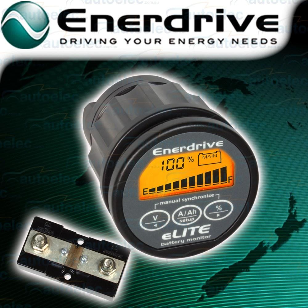 medium resolution of enerdrive battery system monitor amps volt meter 12v 24 volt en55010