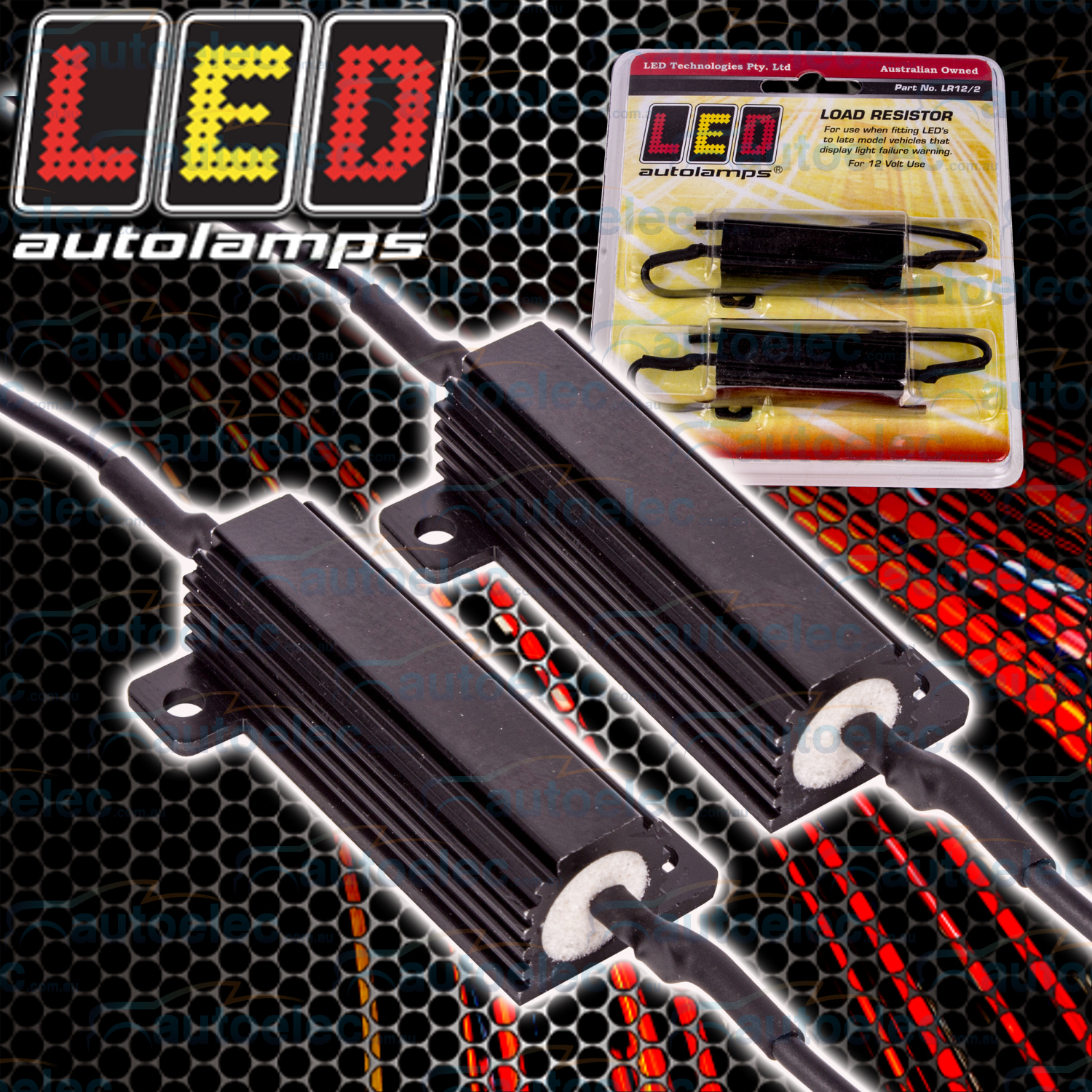 hight resolution of led load resistor 4 trailer tail stop lights indicator flashers lamp lr12 2