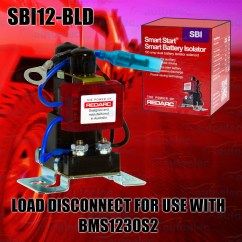 Redarc Sbi Wiring Diagram Msd 6m 2 Sbi12 Bld Load Disconnect For Use With Subscribe To Our Newsletter