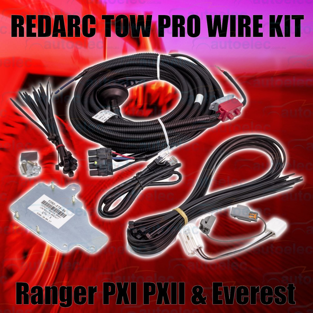 medium resolution of redarc tow pro wiring harness loom kit suit towpro elite to ford ranger px1 new