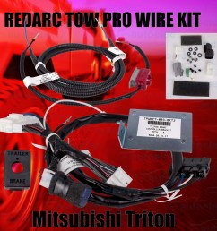 subscribe to our newsletter home electrical parts brake controllers redarc towpro elite classic wiring harness loom kit mitsubishi triton  [ 1500 x 1500 Pixel ]