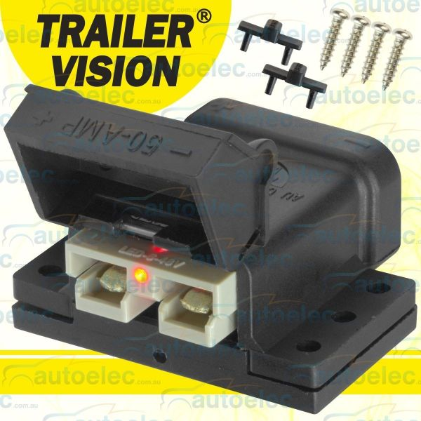 Trailer Vision 50a Amp Led Anderson Plug Compatible