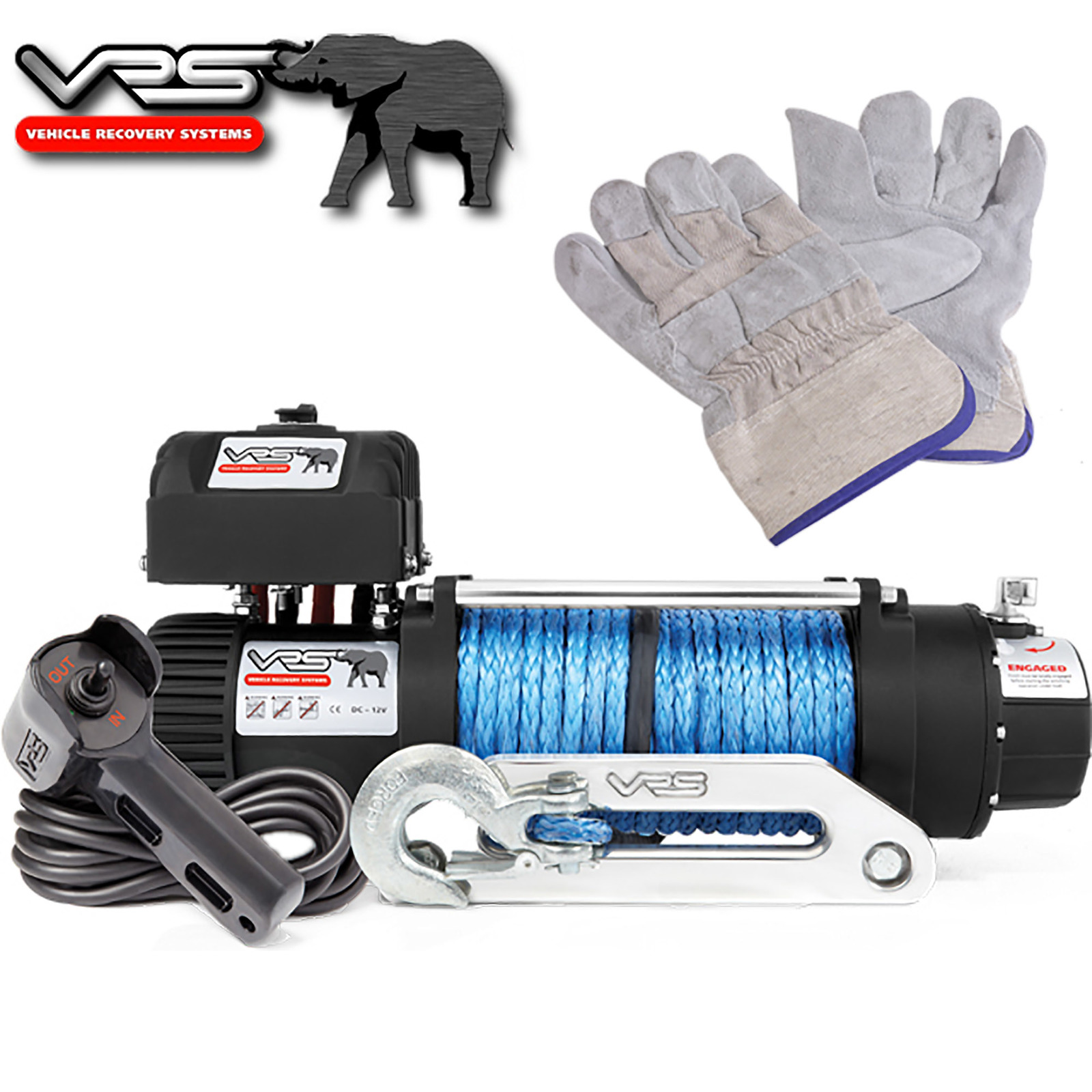 ironman winch wiring diagram parts of a flower ks2 vrs synthetic rope monster 12500lb 43 gloves