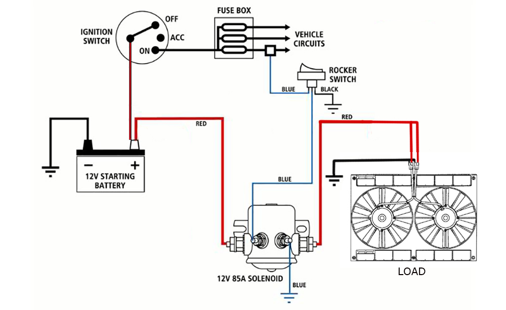 12v battery wiring diagram