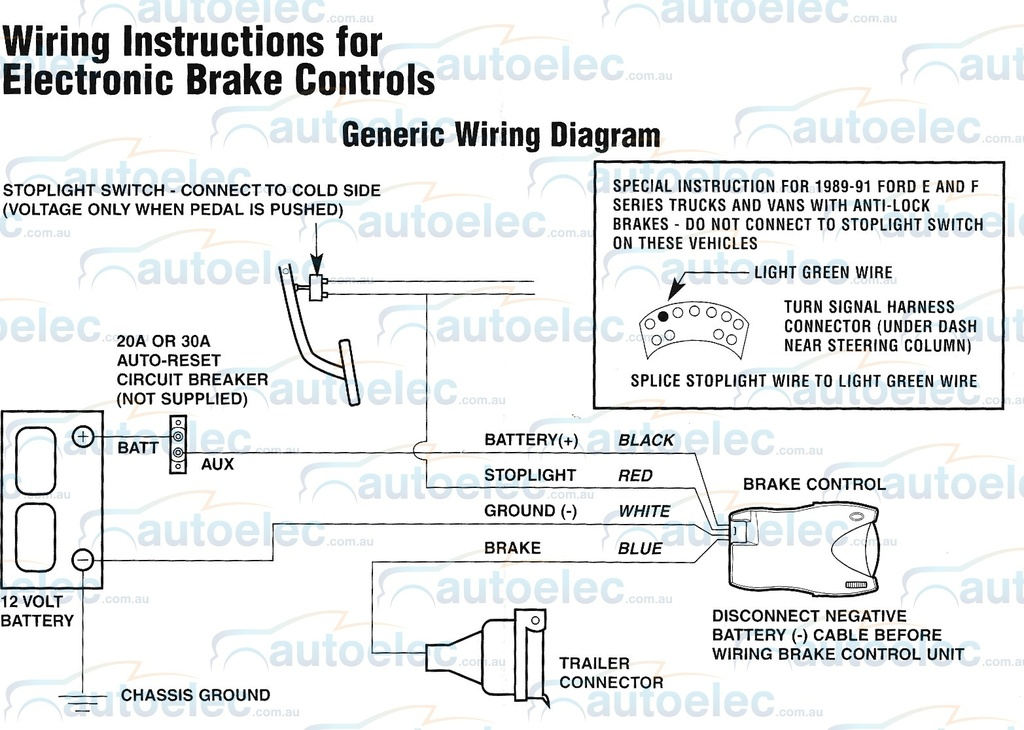 hayman reese trailer brake controller wiring diagram shurflo water pump electric tekonsha primus iq +