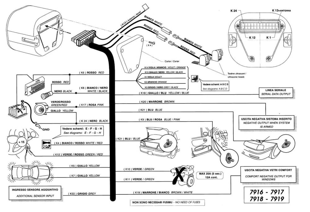 medium resolution of  7916 7919 u0441 u0445 u0435 u043c u0430 u043f u043e u0434 u043a u043b u044e u0447 u0435 u043d u0438 u044f car alarm wiring guide vision alarm schematics
