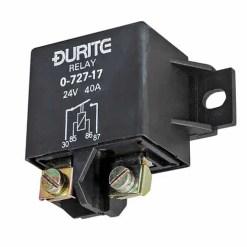 0-727-17 – Relay Heavy Duty Make/Break 40 amp 24 volt  – Qty. 1