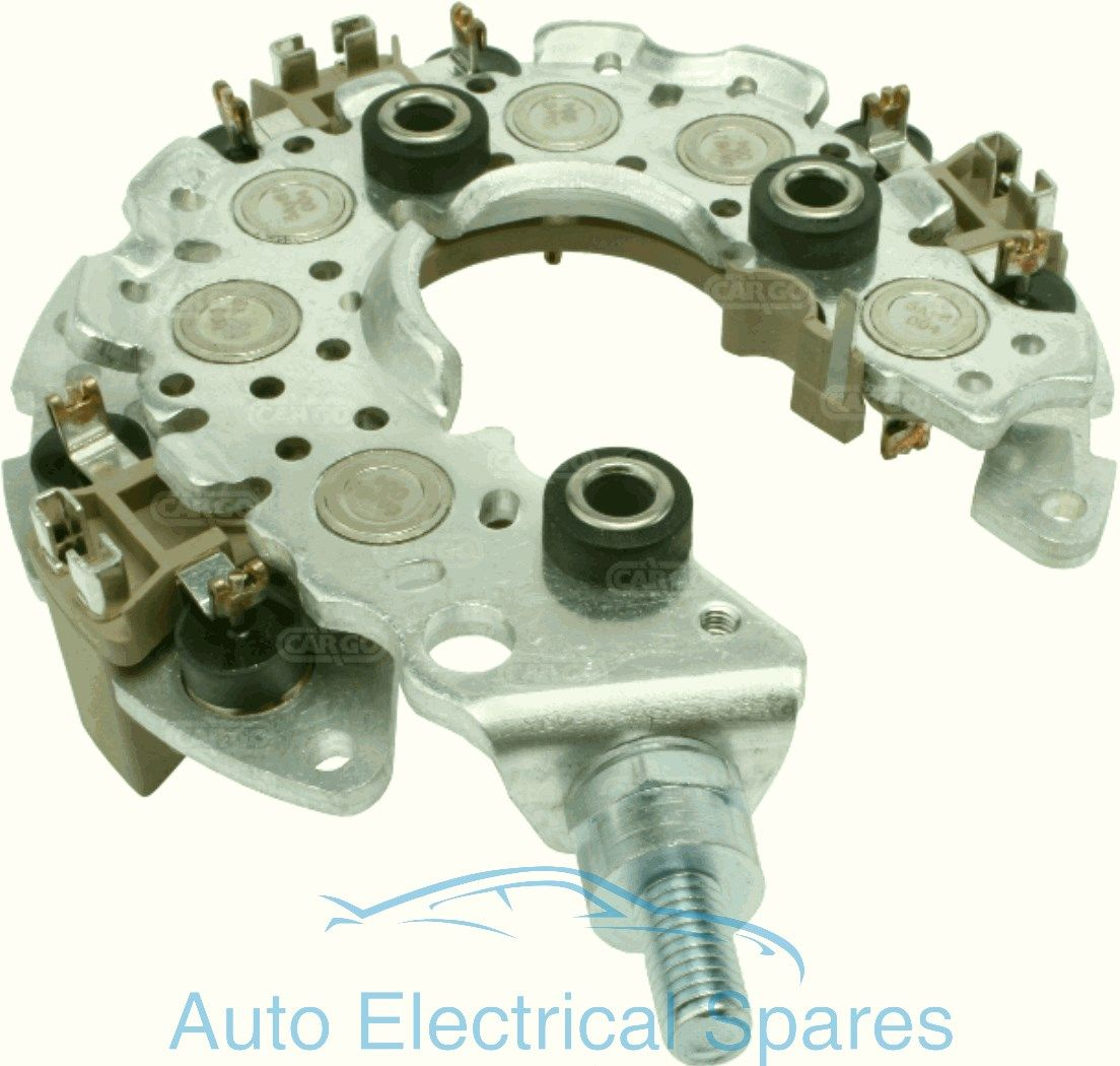 ford alternator diode testing 3 phase motor wiring diagram 9 leads 237607 rectifier replaces denso