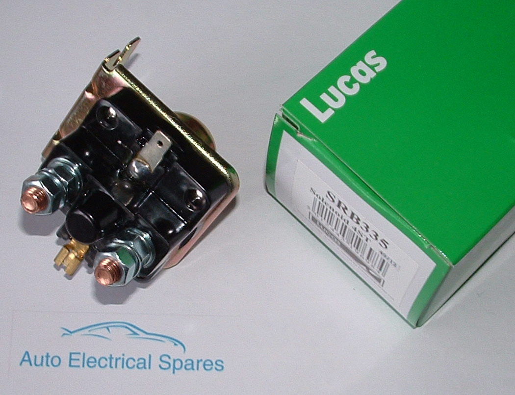 Ac Fan Wire Diagram Lucas Srb335 77117 76795 76789 4st External Solenoid Genuine