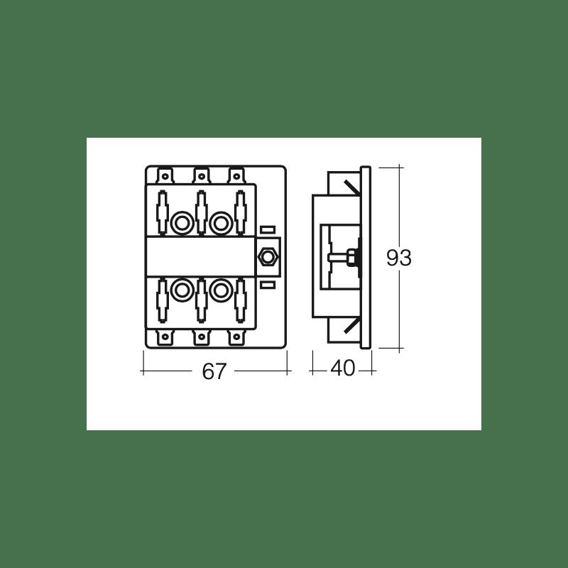 ELECTRICAL NARVA 6 WAY STANDARD BLADE FUSE BOX 150 AMP