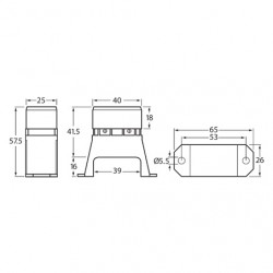 ELECTRICAL HELLA ELECTRICAL FUSE BOX 4-WAY BLADE FUSES