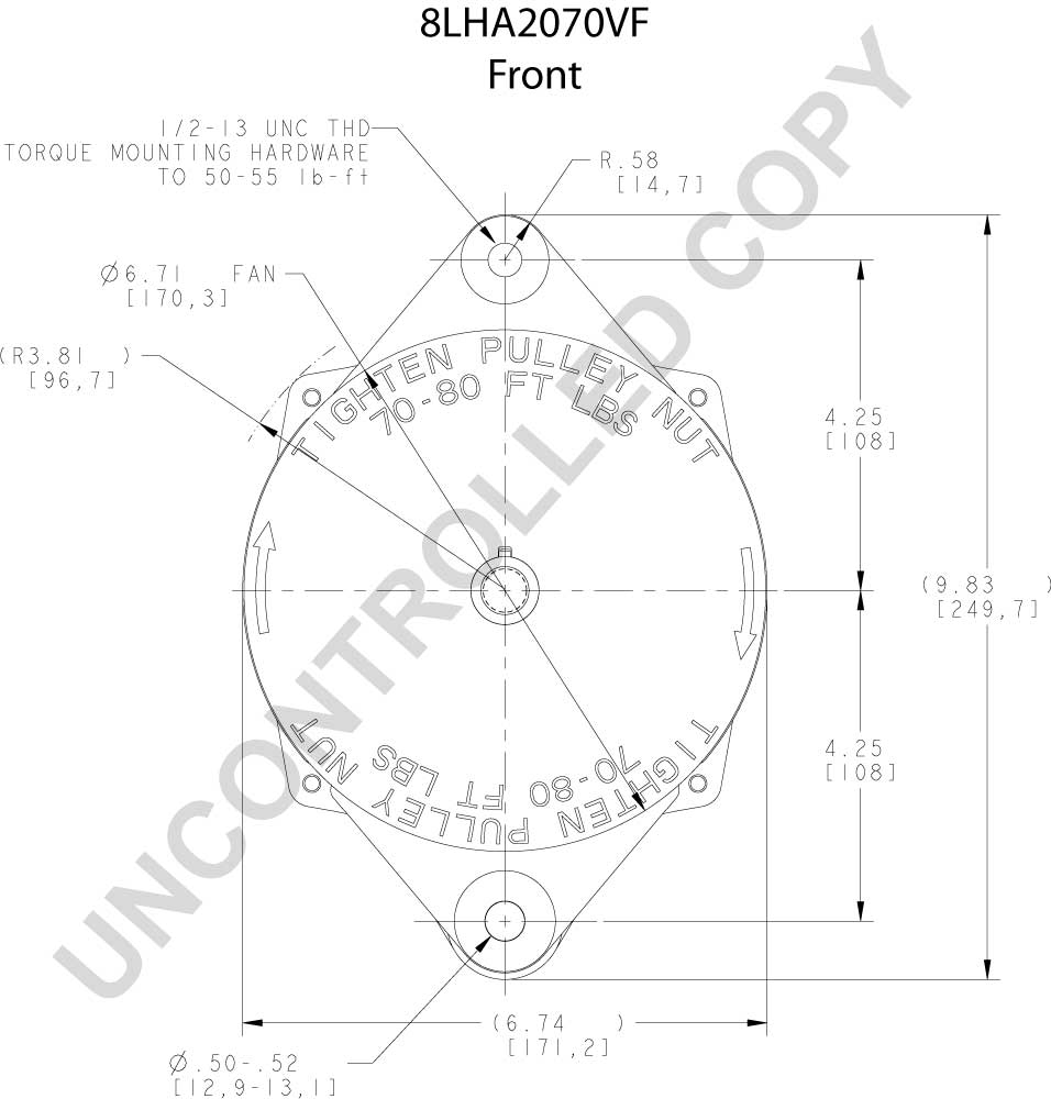 110-555JHO Leece Neville Alternator — (613) 544-7466 Heavy