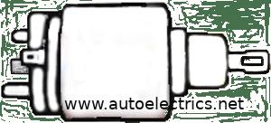 STARTER MOTOR SOLENOID CLICKS
