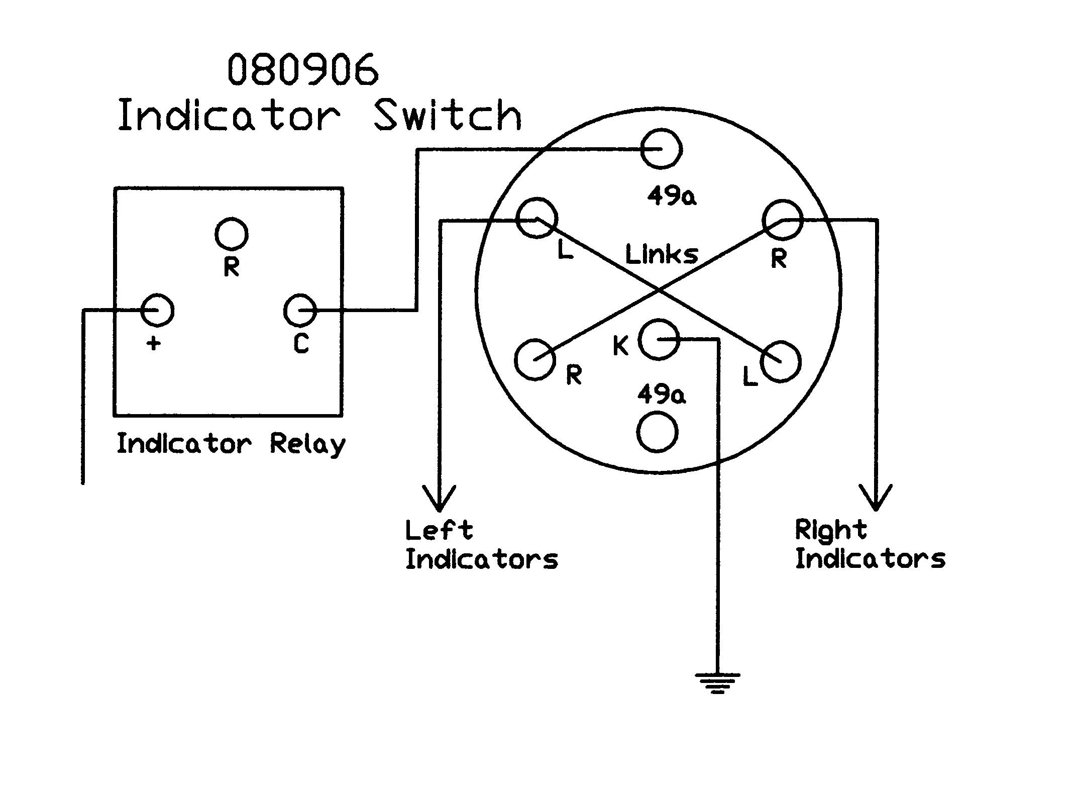 4 Position Rotary Switch Schematic