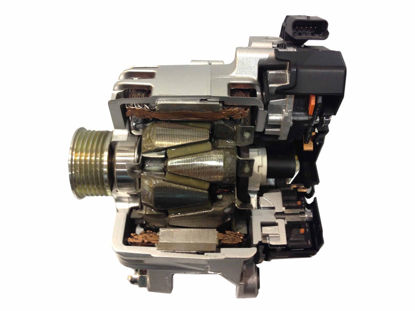 hight resolution of alternators