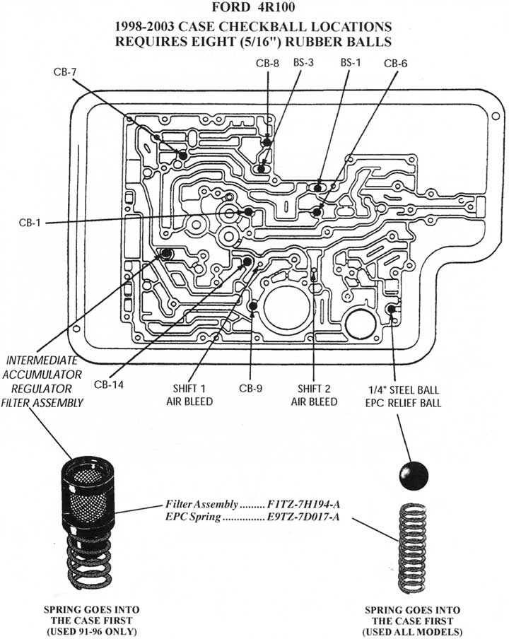 ford c4 rebuild wiring diagram