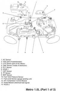 Geo Metro Motors Honda Passport Motor Wiring Diagram ~ Odicis