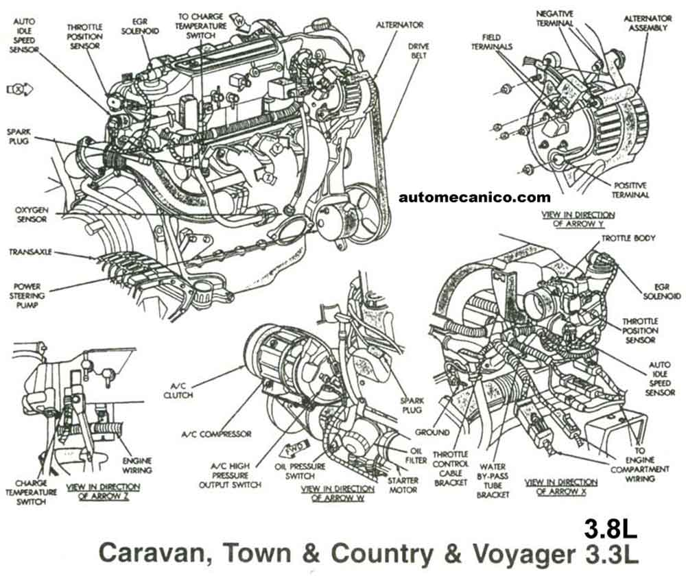 2000 Dodge 318 Engine Diagram, 2000, Free Engine Image For